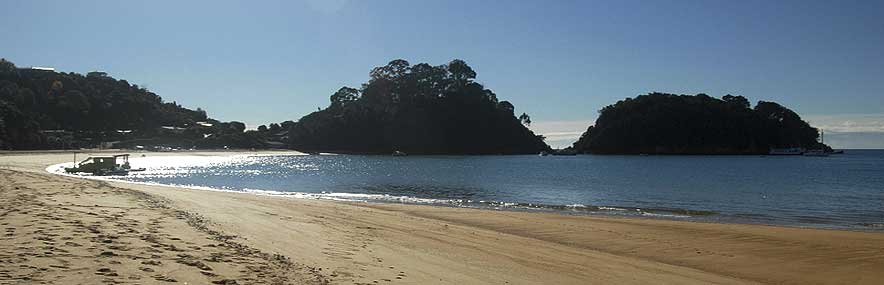 Kaiteriteri Beach, luxury beach accommodation in the Nelson region